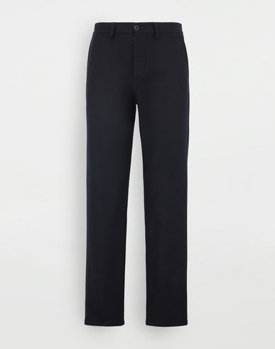 MAISON MARGIELA Wool trousers Casual pants Man f