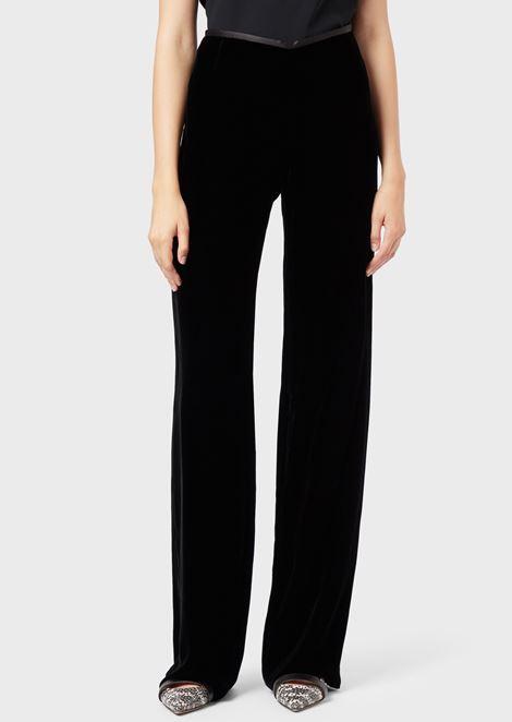 6eac3b24b4c9 Pantalones Mujer | Emporio Armani