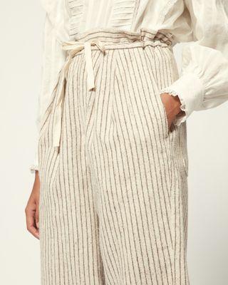 ISABEL MARANT ÉTOILE PANT Woman PLATT PANTS r