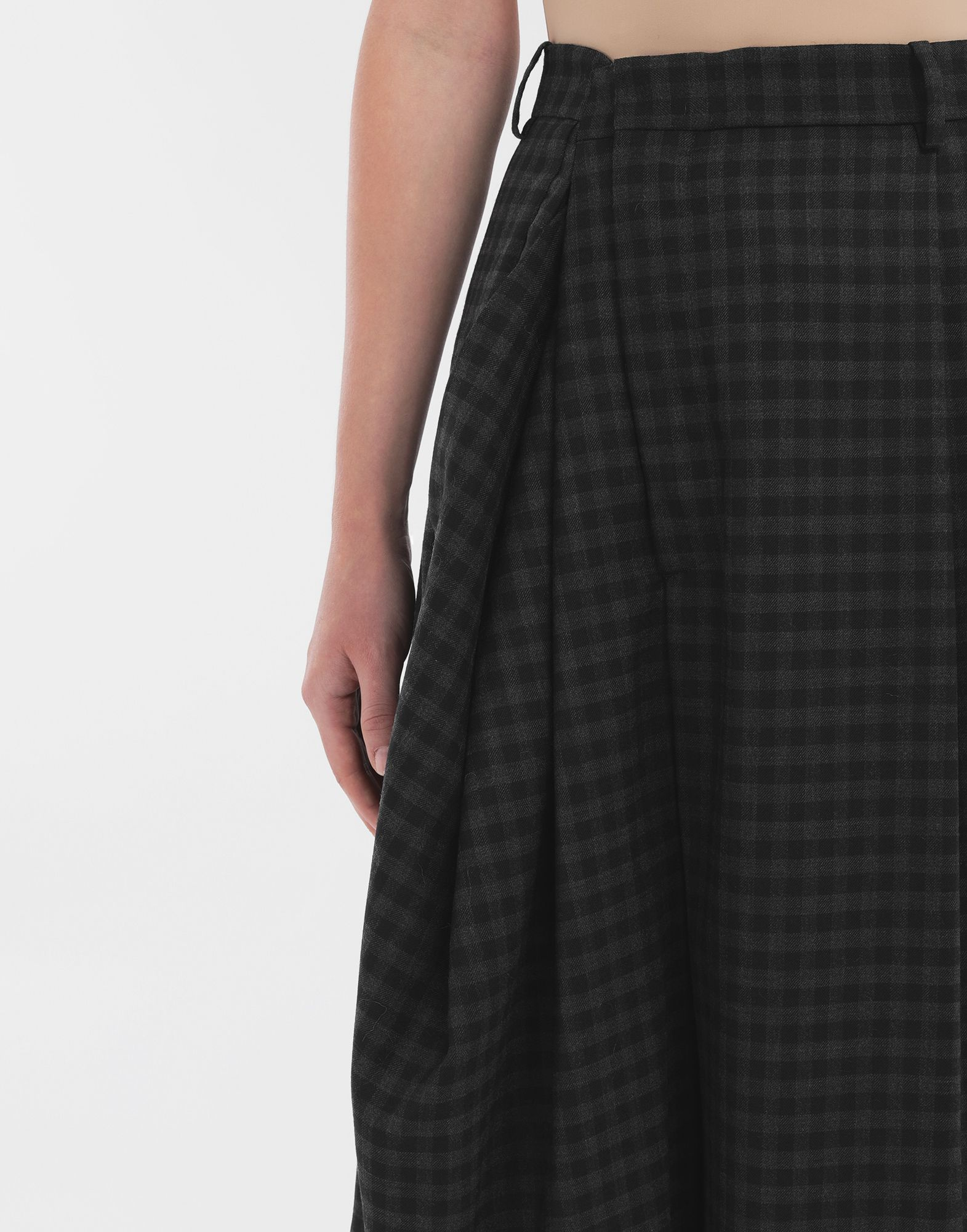 MAISON MARGIELA Reworked check culottes Shorts Woman a