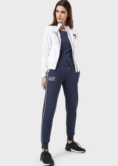 EMPORIO ARMANI Fleece Trousers Woman r