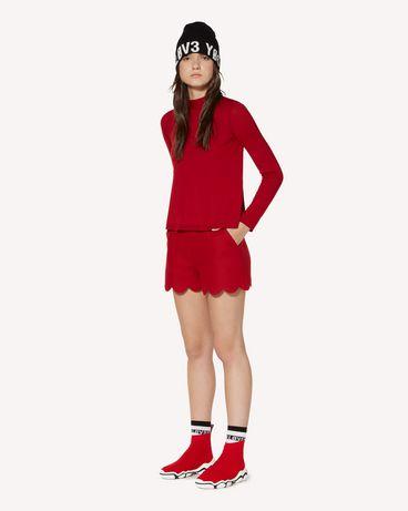 REDValentino SR3RFB35497 D05 Shorts Woman d