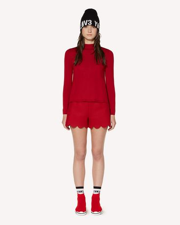 REDValentino SR3RFB35497 D05 Shorts Woman f