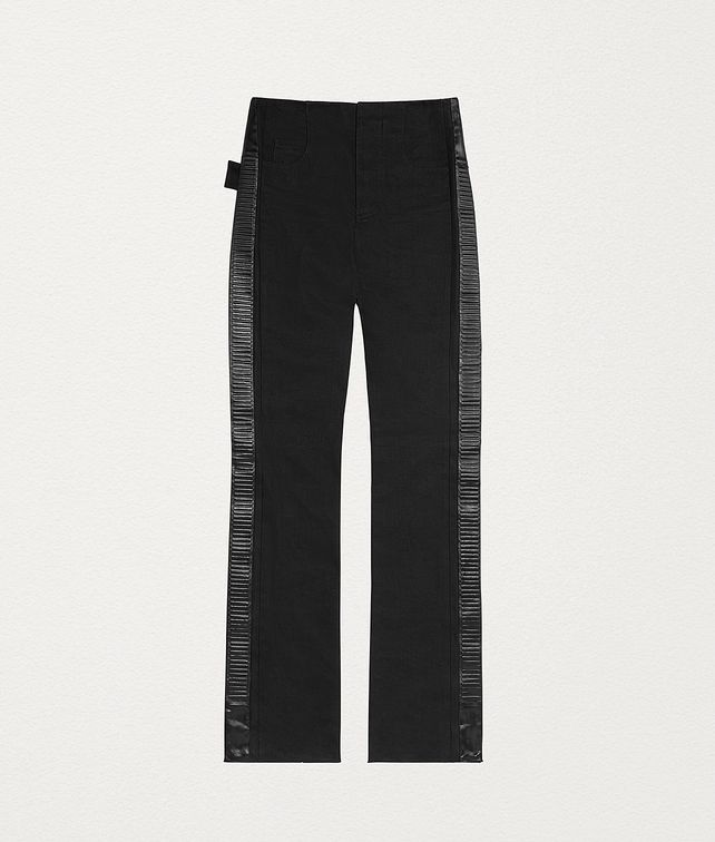 BOTTEGA VENETA TROUSERS IN JAPANESE DENIM Trousers and Shorts Woman fp