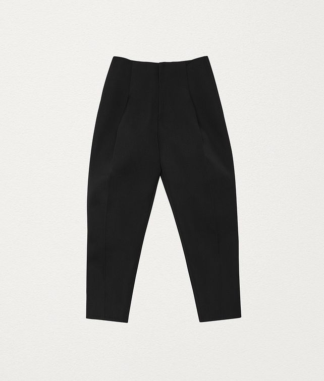 BOTTEGA VENETA PANTS IN DOUBLE WOOL Trousers and Shorts Man fp