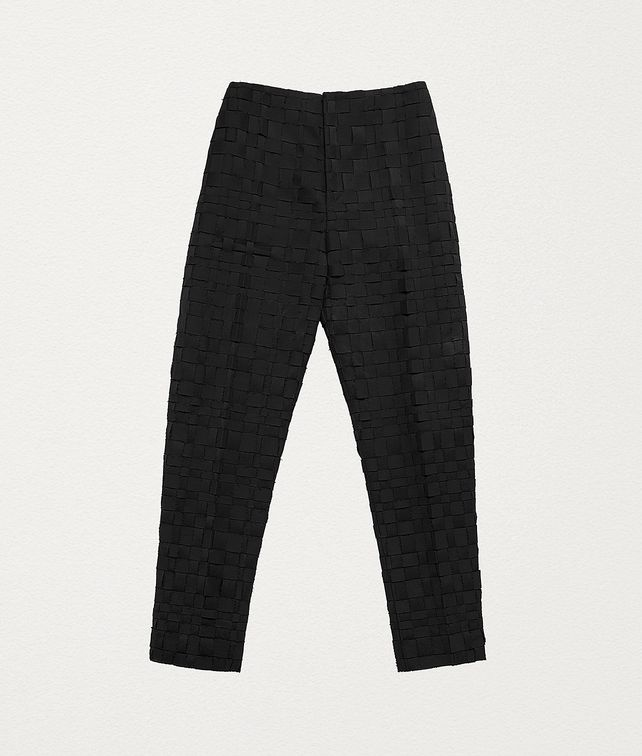 BOTTEGA VENETA TROUSERS IN INTRECCIATO WOOL Trousers and Shorts Man fp