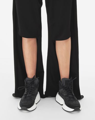 TROUSERS Multi-wear zip joggers Black