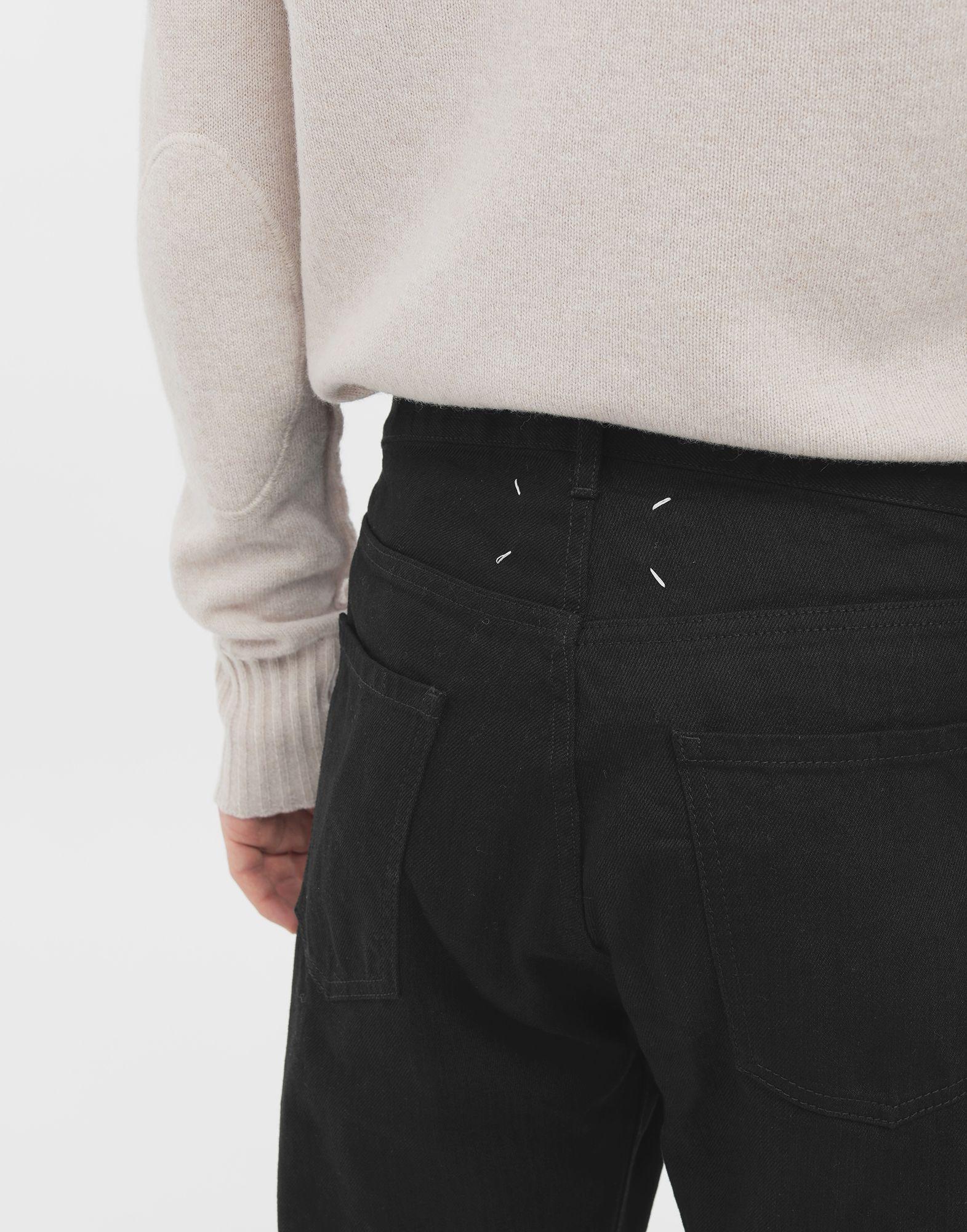 MAISON MARGIELA Джинсы в технике Décortiqué Джинсовые брюки Для Мужчин a