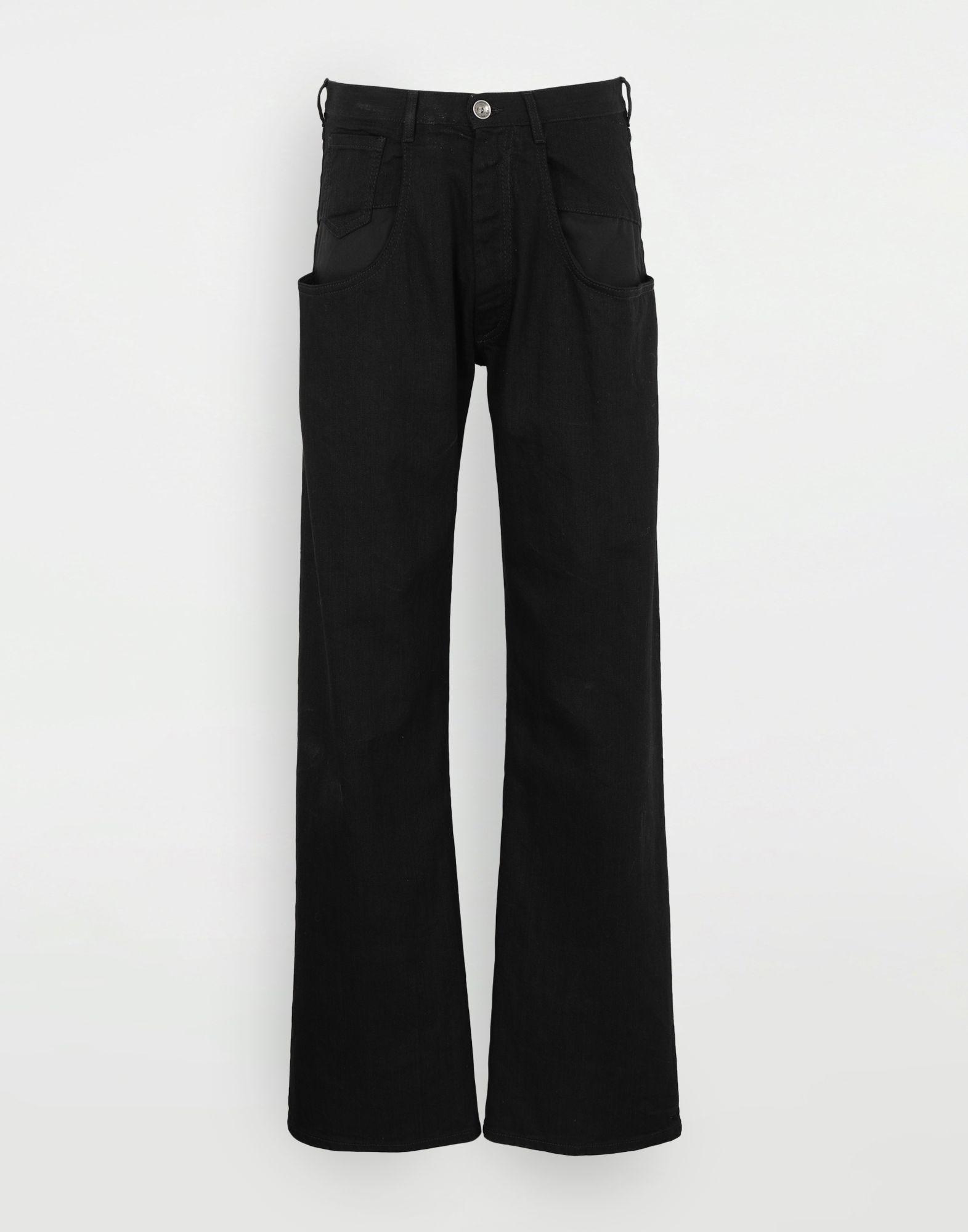 MAISON MARGIELA Джинсы в технике Décortiqué Джинсовые брюки Для Мужчин f