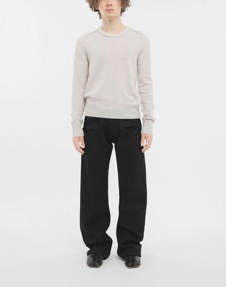 MAISON MARGIELA Джинсы в технике Décortiqué Джинсовые брюки Для Мужчин d
