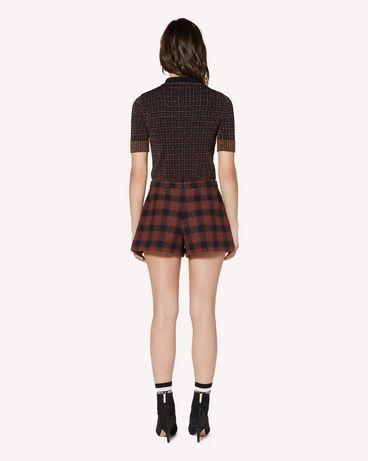 REDValentino SR3RFB6549A B01 Shorts Woman r