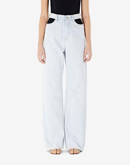 MAISON MARGIELA Décortiqué jeans Jeans Woman a
