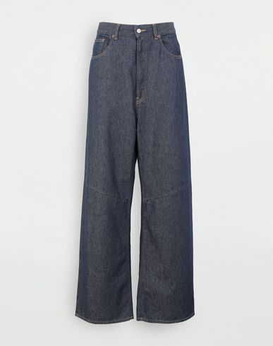 PANTS High-waisted multi-wear jeans Blue