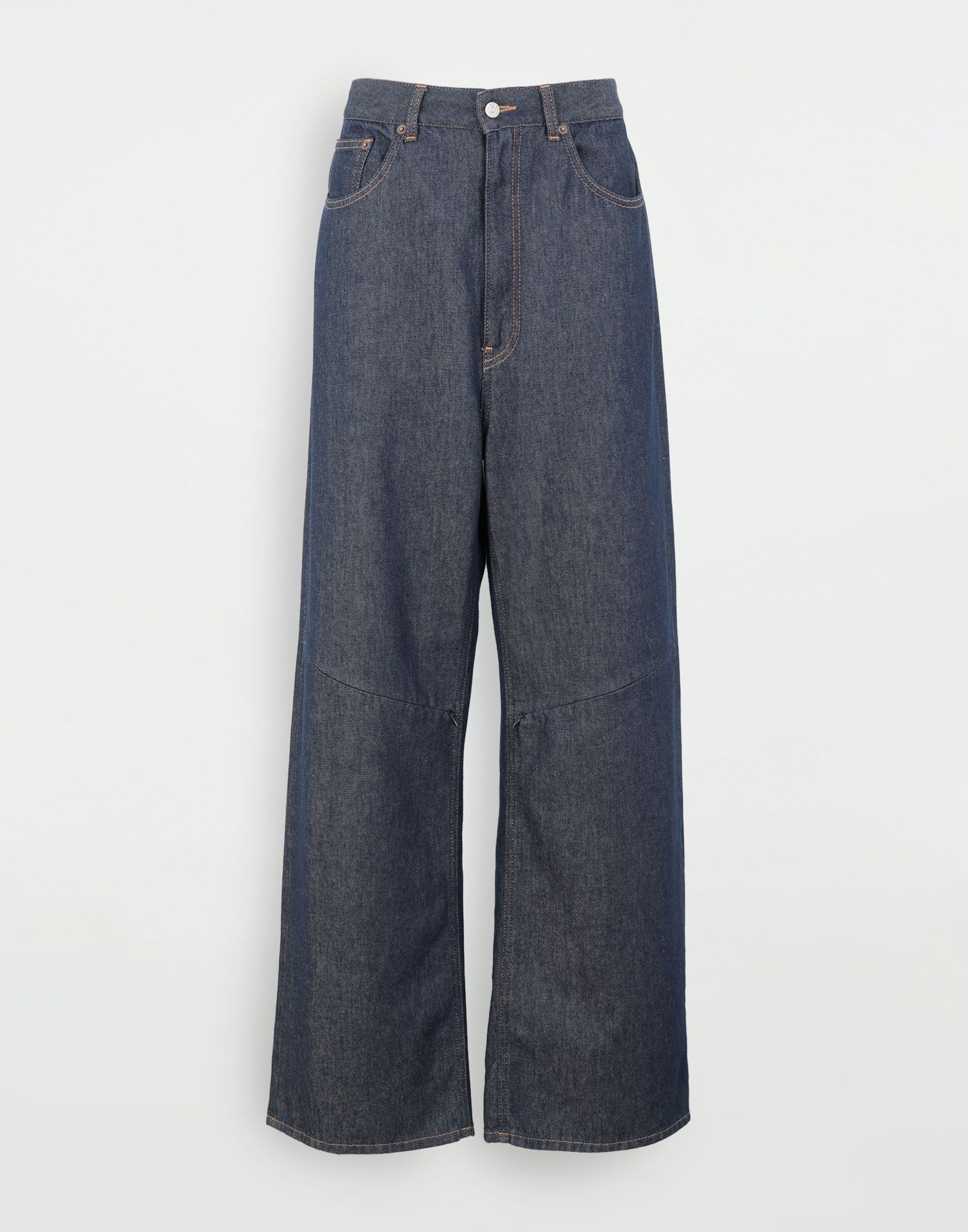 MM6 MAISON MARGIELA High-waisted multi-wear jeans Jeans Woman f