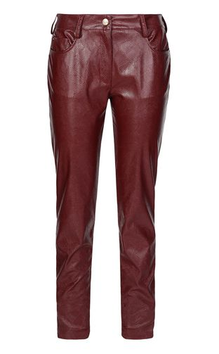 Python-effect trousers