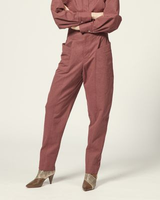 ISABEL MARANT TROUSER Woman LIXY TROUSERS r