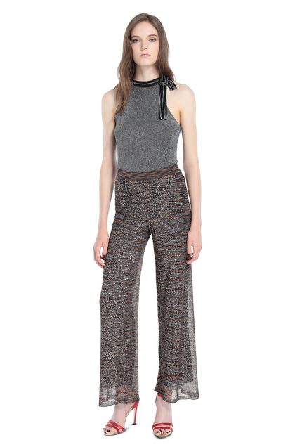 MISSONI Pants Brown Woman - Back