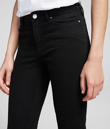 KARL LAGERFELD SKINNY JEANS WITH ANKLE ZIPS