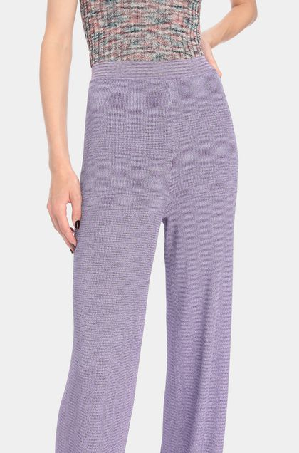 MISSONI Trouser Lilac Woman - Front