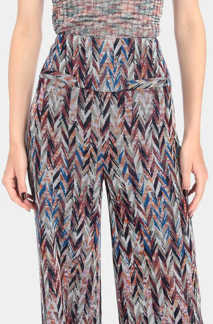 MISSONI Trouser Maroon Woman - Front
