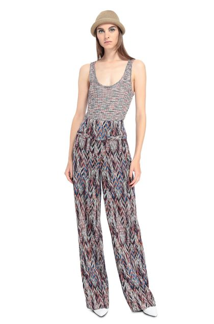 MISSONI Trouser Maroon Woman - Back