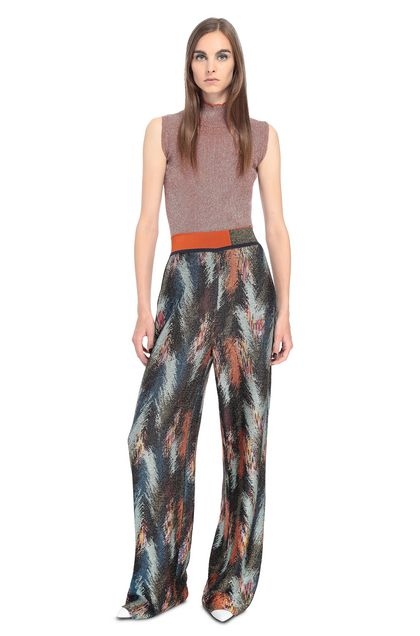 MISSONI Trouser Light green Woman - Back