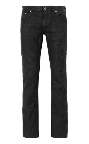 JUST CAVALLI Jeans Man Tiger-embroidered Just-Fit Jeans f
