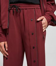 KARL LAGERFELD Wide Leg Snap Pants  9_f