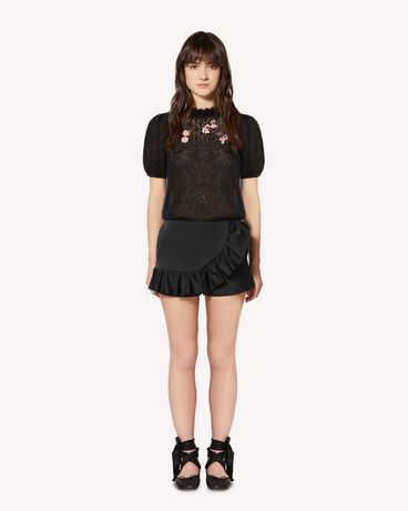 REDValentino SR0RFB954H6 0NO Shorts Woman f