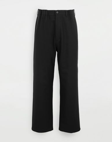 PANTS Flare wool trousers Black