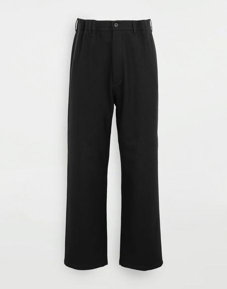 MAISON MARGIELA Flare wool trousers Trousers Man f