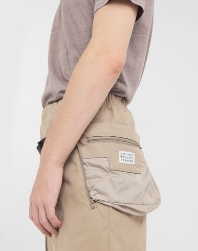 TROUSERS Trousers with bumbag Camel