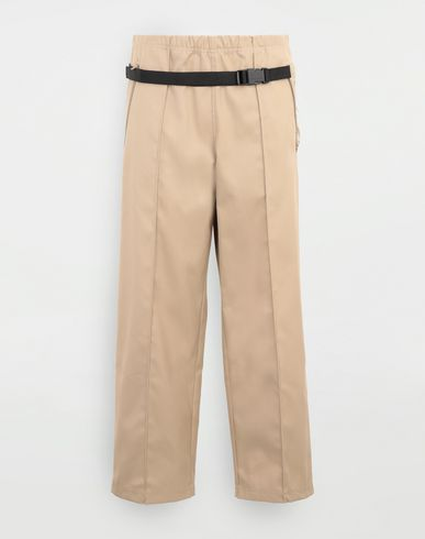 PANTS Trousers with bumbag Camel