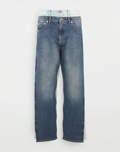 PANTS Spliced jeans Blue