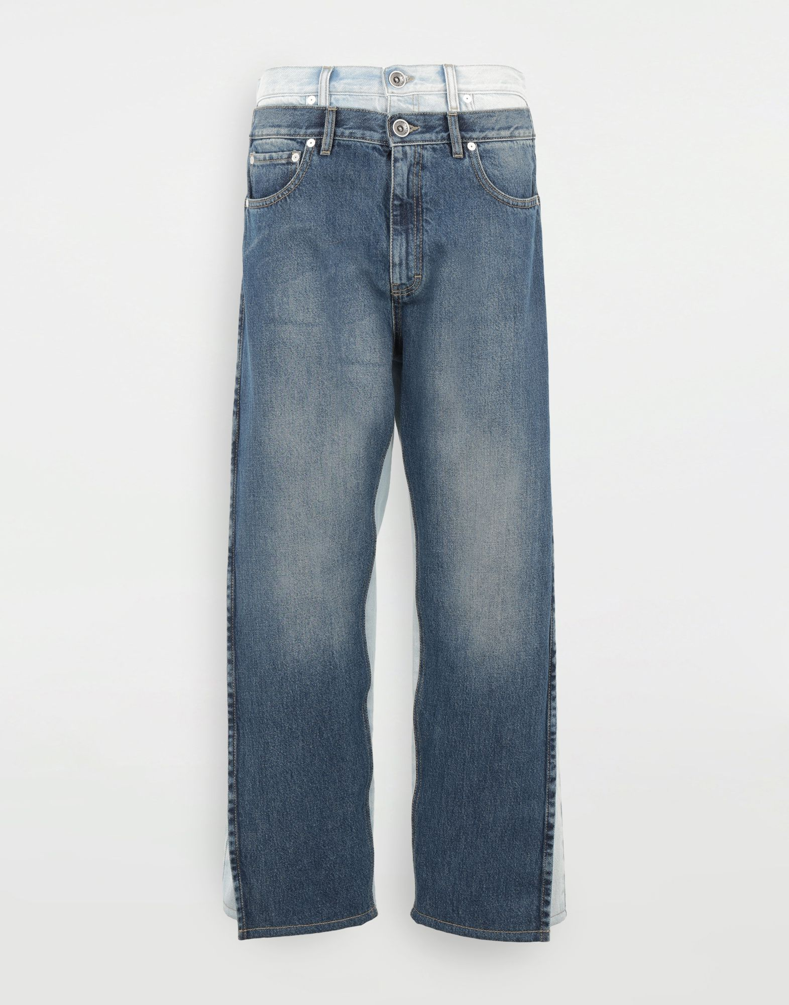 MAISON MARGIELA Spliced jeans Jeans Woman f