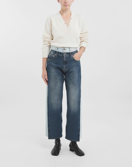 MAISON MARGIELA Spliced jeans Jeans Woman b