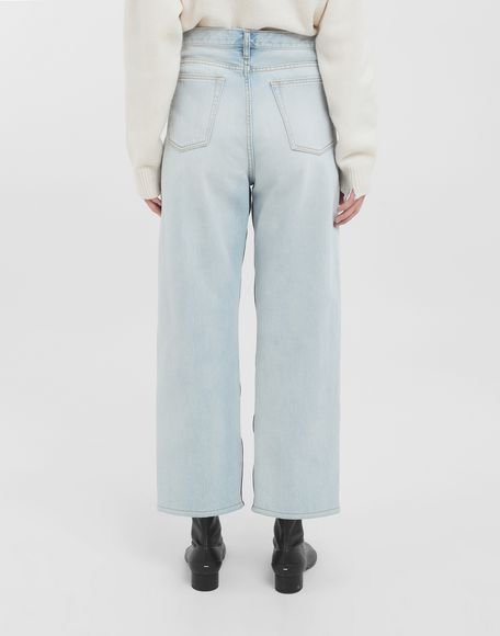 MAISON MARGIELA Spliced jeans Jeans Woman d