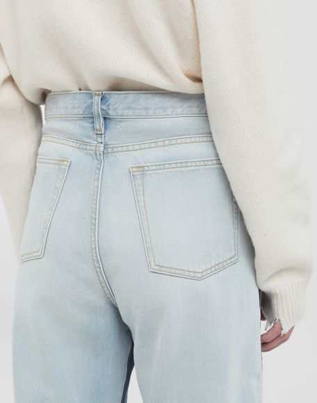 MAISON MARGIELA Spliced jeans Jeans Woman e