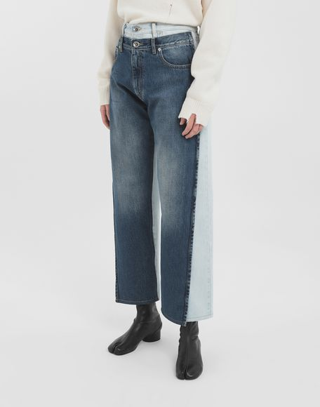 MAISON MARGIELA Spliced jeans Jeans Woman r