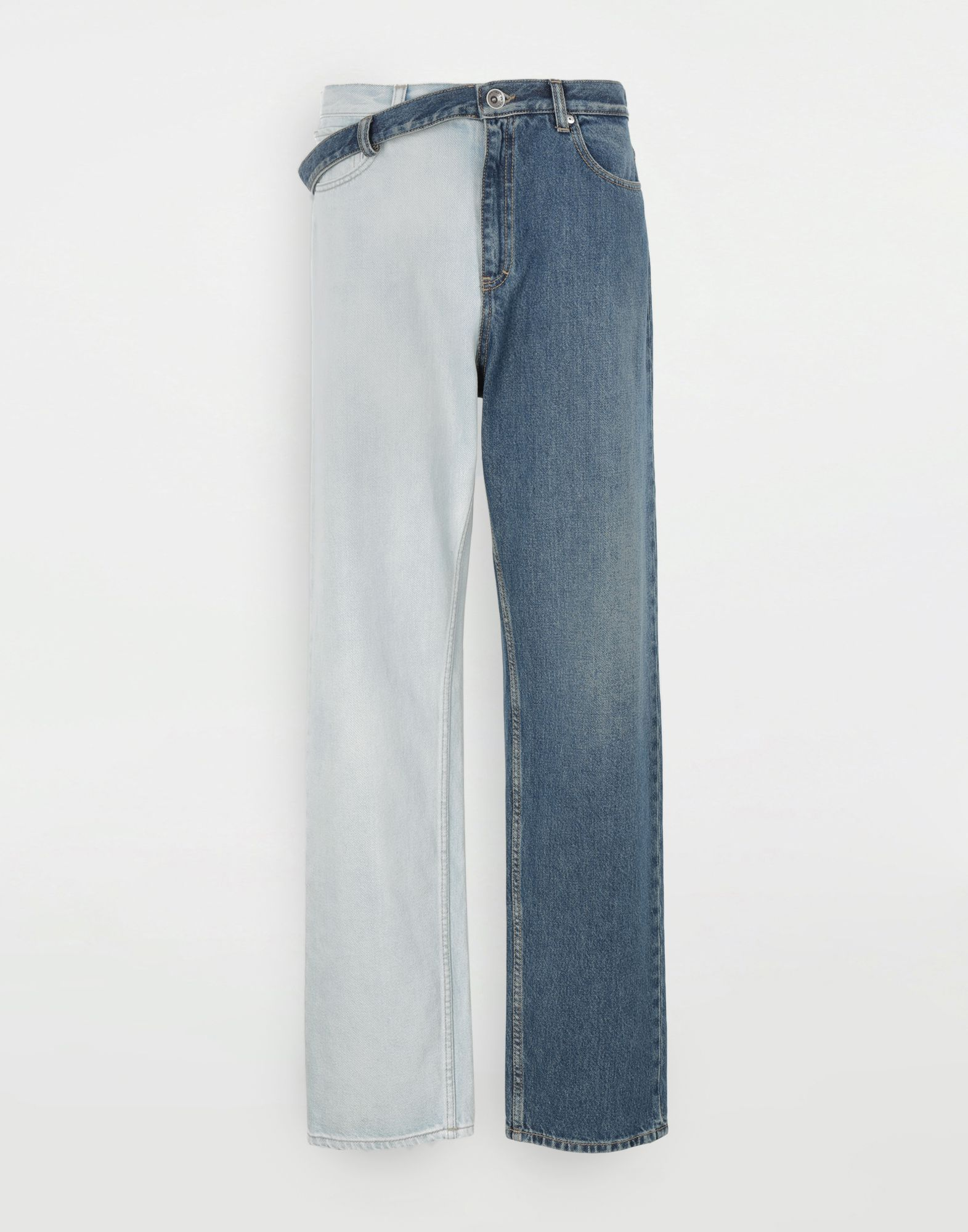 MAISON MARGIELA Side-belt jeans Jeans Woman f
