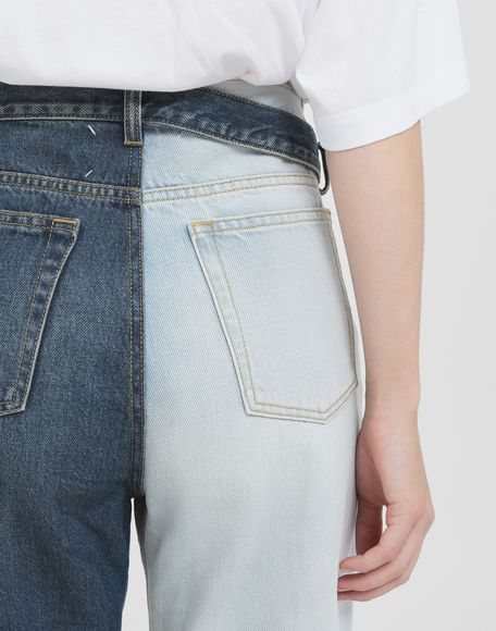 MAISON MARGIELA Side-belt jeans Jeans Woman b