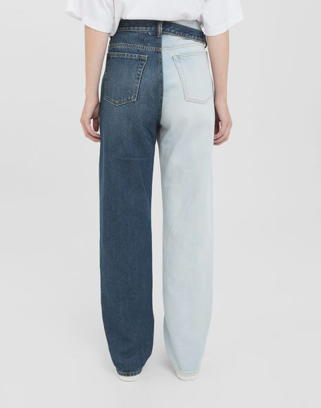 MAISON MARGIELA Side-belt jeans Jeans Woman e