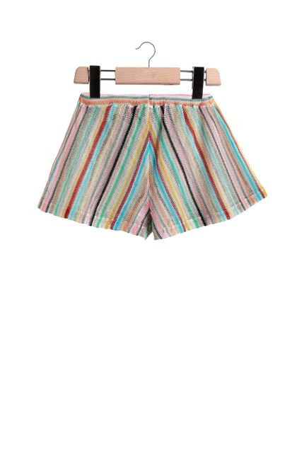 MISSONI KIDS Shorts Azure Woman - Front