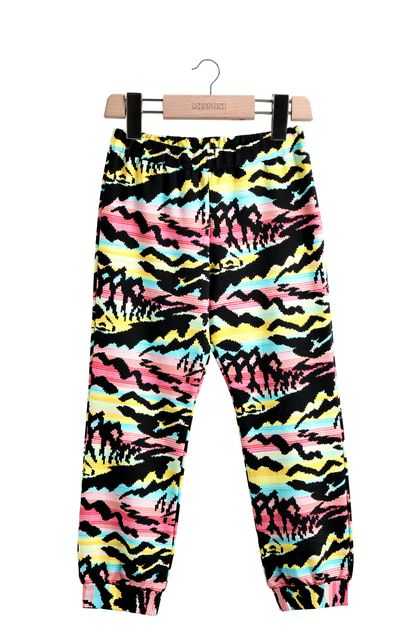 MISSONI KIDS Pants Black Woman - Back