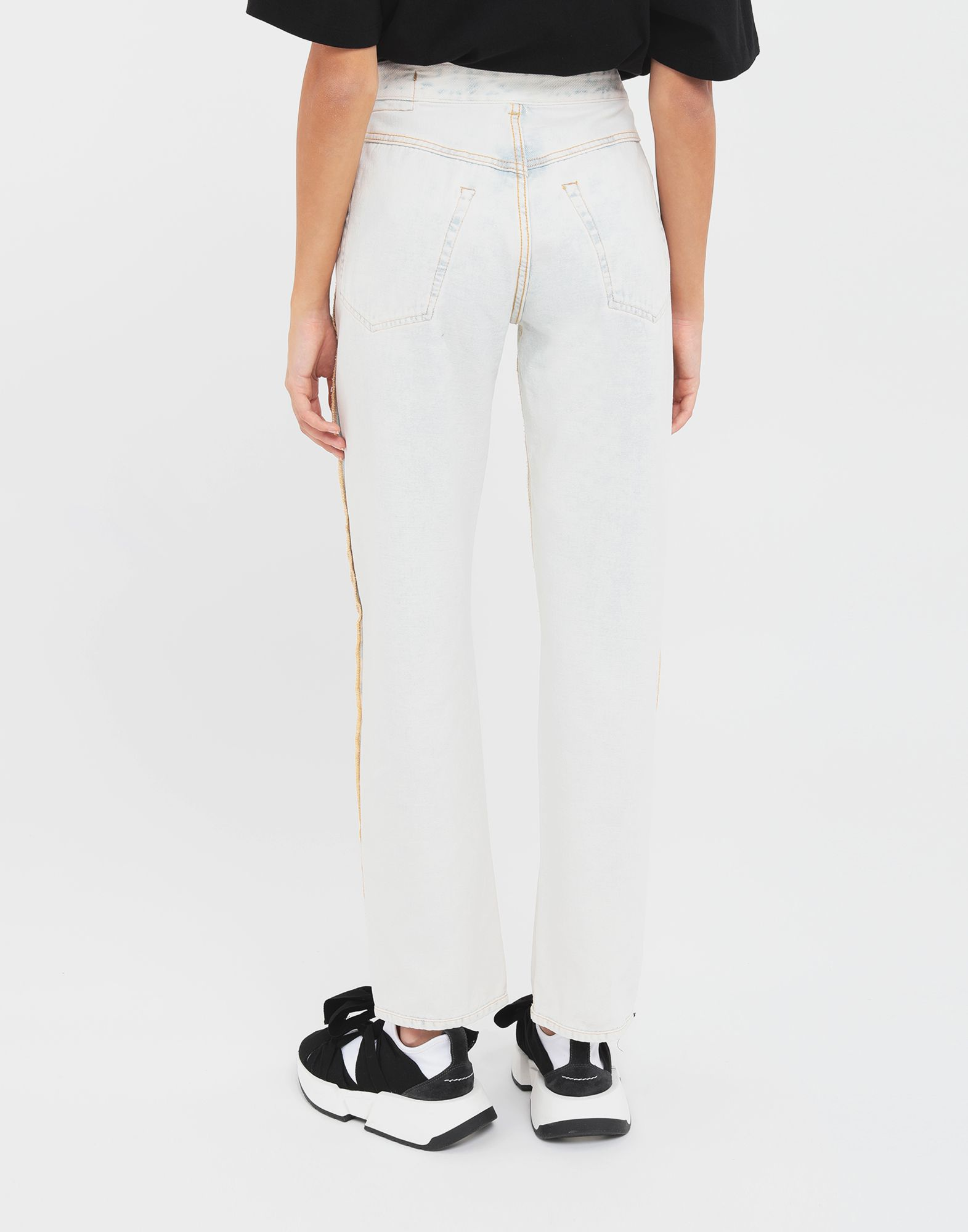 MM6 MAISON MARGIELA Reversed jeans Jeans Woman e