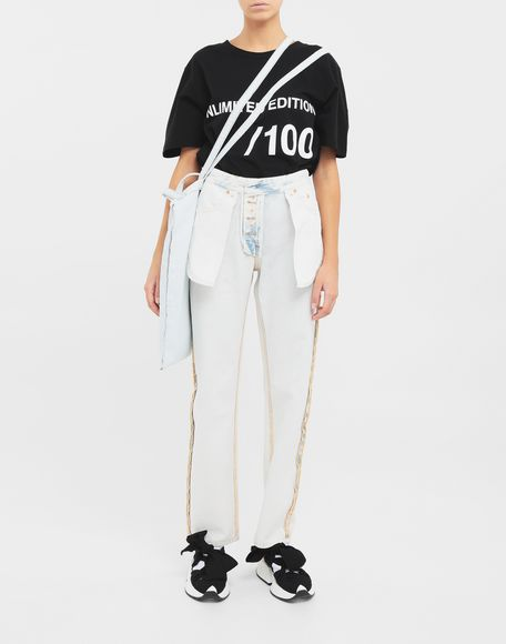 MM6 MAISON MARGIELA Reversed jeans Jeans Woman d