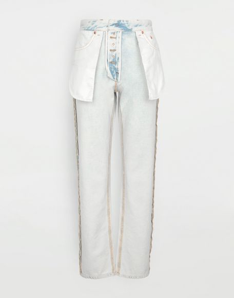 MM6 MAISON MARGIELA Reversed jeans Jeans Woman f