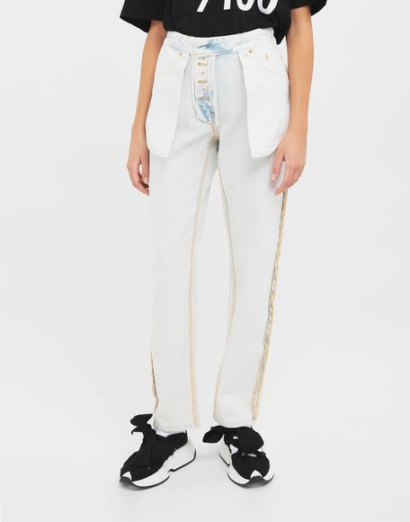 MM6 MAISON MARGIELA Reversed jeans Jeans Woman r