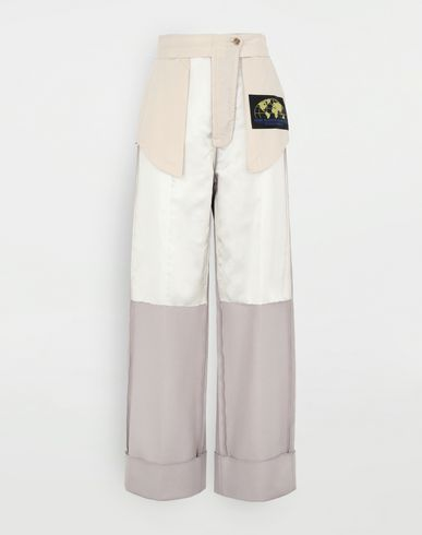 PANTS Reversed tailored trousers  Beige