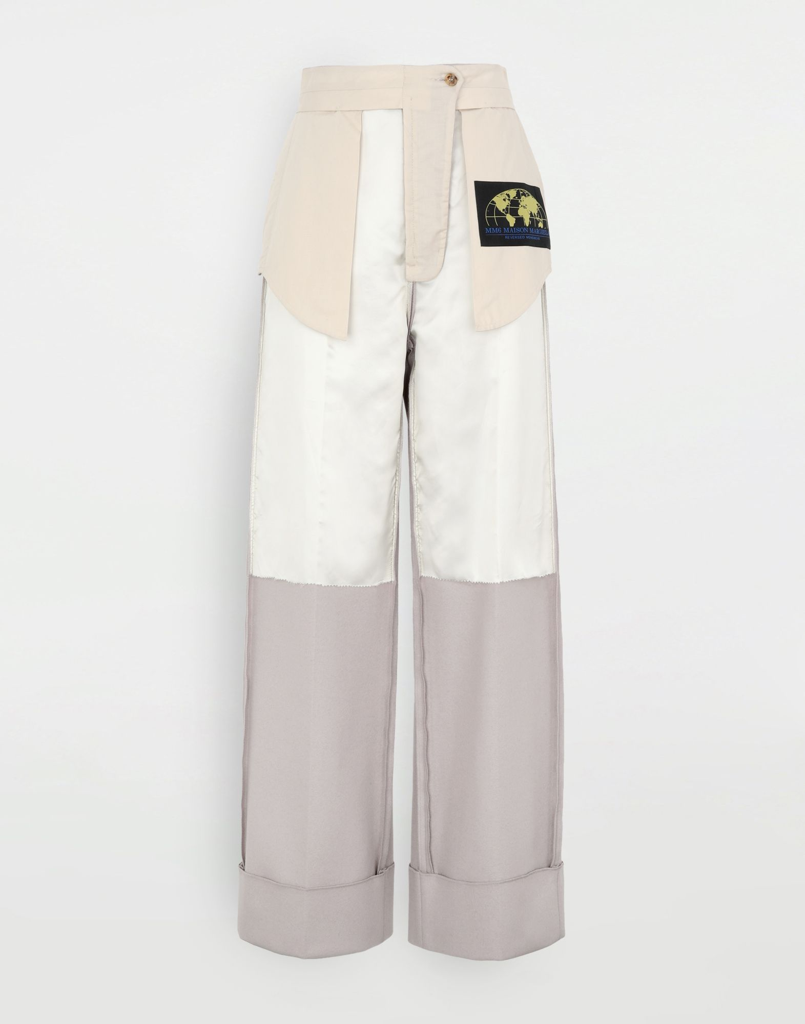 MM6 MAISON MARGIELA Reversed tailored trousers Trousers Woman f